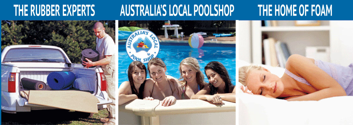 Clark Rubber - The Rubber Experts, Australia's Local Pool Shop, The Home of Foam