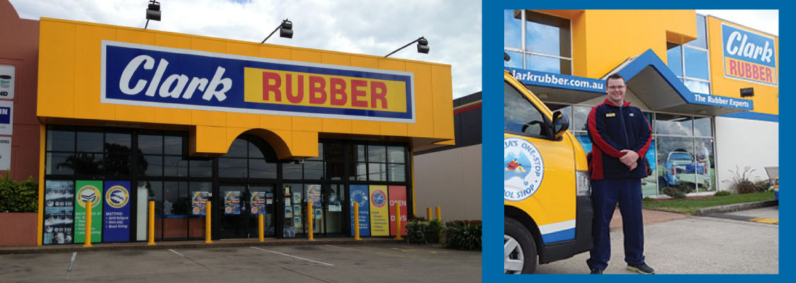 Clark Rubber - National Strength, Local Support